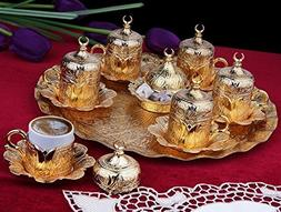 26 Pieces Ottoman Turkish Greek Arabic Coffee Espresso Guest