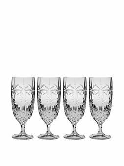 Godinger Palm Iced Tea Glasses, Set of 4