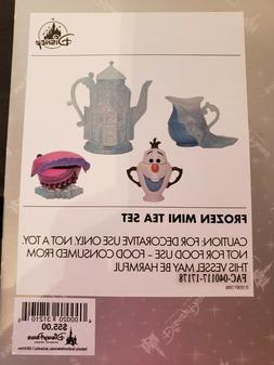 Disney Parks Decorative Mini Tea Set Frozen Frozen Olaf Anna