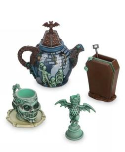 Disney Parks Haunted Mansion Mini Tea Set Hitching Ghosts Ga