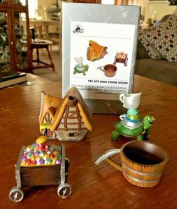 parks snow white mini tea set new