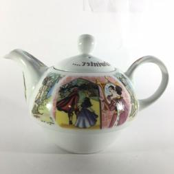 Paul Cardew Snow White Tea For One Teapot & Oversized Cup Se
