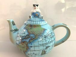 Paul Cardew Teapot Global Warming Polar Bear Globe