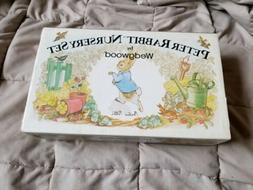 Peter Rabbit Children's Tea Set Wedgwood Beatrix Potter 3 Pi