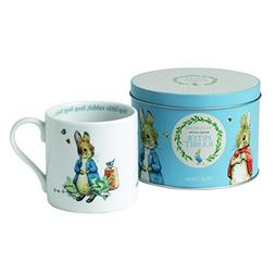peter rabbit mug a tin
