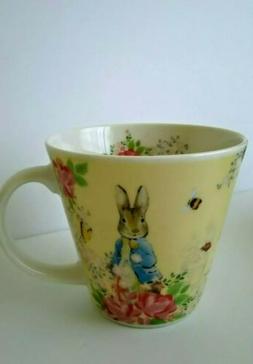 Peter Rabbit Mug Cream Yellow