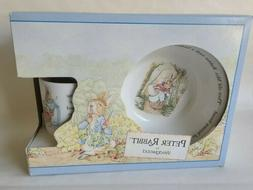 peter rabbit nursery mug plate bowl 3