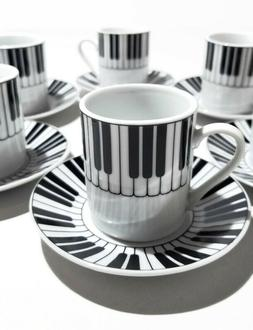 piano small tea coffee espresso cup