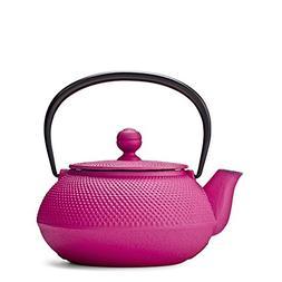 Pink Hobnail Cast Iron Teapot by Teavana