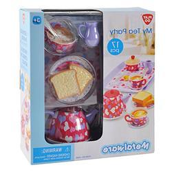 Play Go My Tea Party Metalware Tea Set 17 pcs