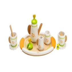 Hape Playfully Delicious Wooden Play Tea Set for Two Action