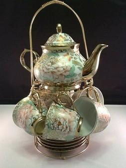 porcelain tea coffee set pot 2 oz