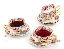 Porcelain Tea Cup and Saucer Coffee Cup Set White color with