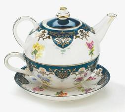 Porcelain Tea For One Teapot Duo Tea Set The Vanderbilt Coll