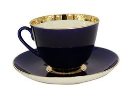 Lomonosov Porcelain Tea Set Cup and Saucer Spring Night 7.8