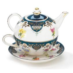 Vanderbilt Porcelain Duo Teapot Tea For One From Biltmore Ho