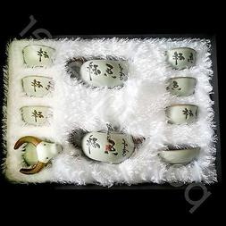 Portable 10 Pcs Ceramic Tea Set Porcelain Kung Fu Tea Pot Pi