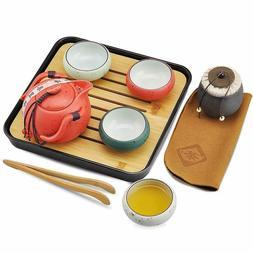 Portable Travel Kung Fu Tea set Chinese Tea Set Chinese/Japa