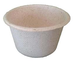 2 oz Portion Cup Compostable, Biodegradable, Heavy Duty Ovat