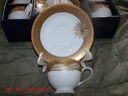 Porzellan Fabrik SMCS Tirschenreuth Bavaria 12 Piece Tea Set