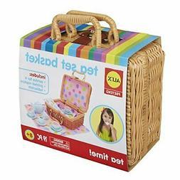 ALEX Toys - Pretend & Play, Tea Set Basket, 709W