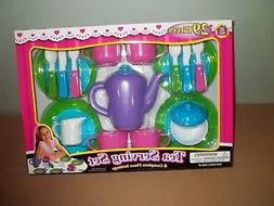 Pretend Play Tea Serving Dish Set-4 Place Settings-29 Pieces