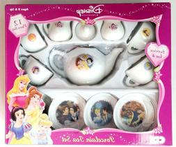 Disney Princess 12 Piece Tea Set Service for 4