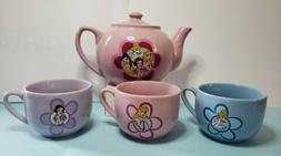 Disney Princesses Porcelain Tea Set  authentic original Disn