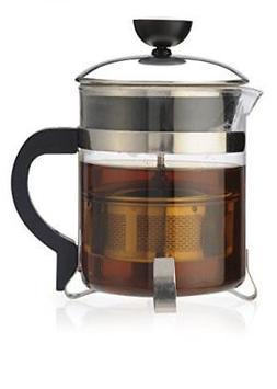 Primula PTP-6405 Classic Tea Maker, 18-Ounce, Clear