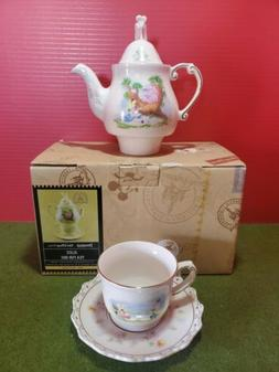 ✅ RARE Disney Alice in Wonderland Tea Set for One/ Teapot