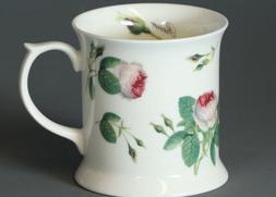 ROY KIRKHAM REDOUTE ROSE CHINTZ Fine Bone China TANKARD Mug