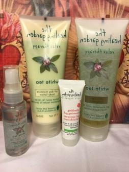 The Healing Garden Relax Therapy White Tea Set Pllus Extra S
