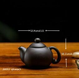 Retro Chinese Yixing Clay handmade tea pot zisha purple clay