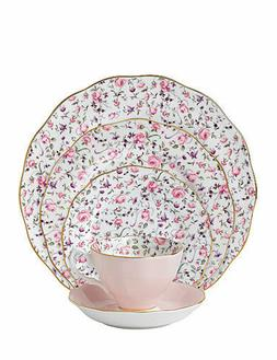 Royal Albert® Rose Confetti Vintage Teacup and Saucer Bo