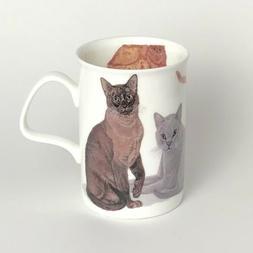 ROY KIRKHAM CATS GALORE Fine Bone China LANCASTER Mug #5a