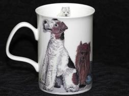 ROY KIRKHAM DOGS GALORE Fine Bone China LANCASTER Mug #3a