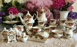 Royal Albert Old country Roses bone china tea and coffee set