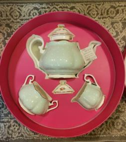 Royal Albert Polka Rose 3 pc. Tea set