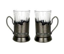 Russian Hot Tea Drinking Paneled Glass Granyoniy 7 oz for Ho