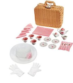 YOTTOY Eloise at The Plaza Poseable Doll 7.5 with Childrens Tea Set Official Licensed Product