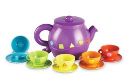 Learning Resources Serving Shapes Tea Set, Learning Shapes a
