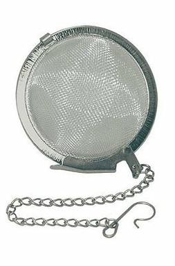 Set of 2 Stainless Steel Mesh Tea Ball Strainer 2in S-3460x2