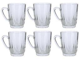 Alpine Cuisine Set of 6 Glass Tea Cups 8 ounces each Turkish