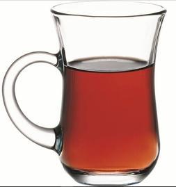 SET OF 6 Turkish Tea Glass Serving Cups Pasabahce High Quali