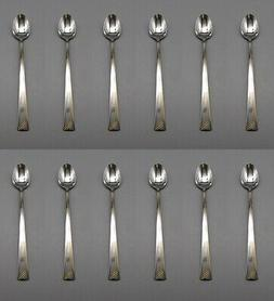 SET OF TWELVE - Oneida Stainless Flatware  GOLDEN ERA Iced T