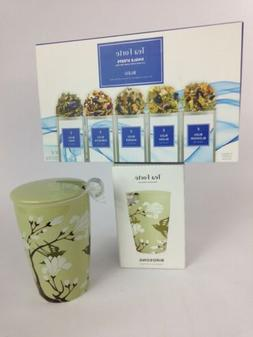 TEA FORTE SET Single Steep Kati Cups BLEU + Birdsong Cup NEW