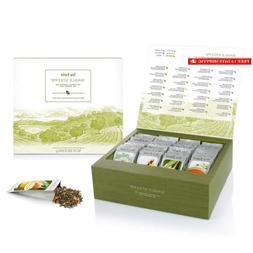 Tea Forte Single Steeps Loose Tea Sampler, Assorted Variety