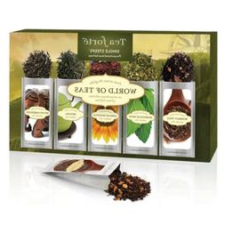 Tea Forte Single Steeps WORLD OF TEAS Loose Leaf 15 Pack Sam