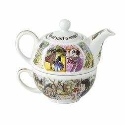 Cardew Design Snow White Tea Set for One with 16-Ounce Pot a
