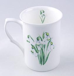 Snowdrop Chintz - Fine English Bone China Mug - England